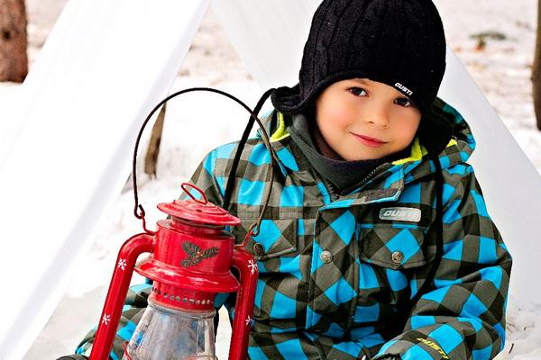 Выбираем зимний детский комбинезон