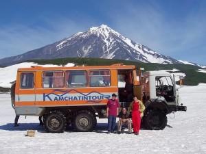 отправиться на Камчатку
